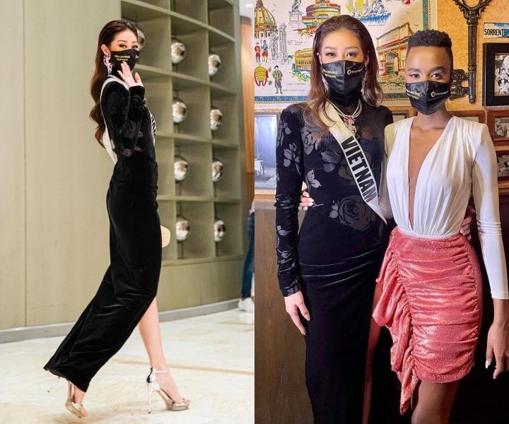 Thời trang ấn tượng của Khánh Vân tại Miss Universe 2020
