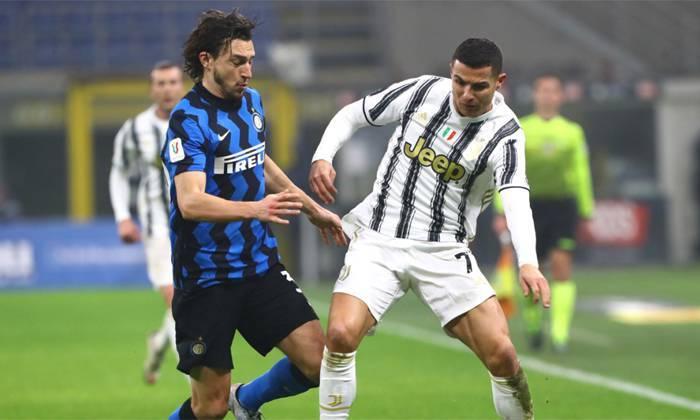Trực tiếp Juventus vs Inter: Chờ Ronaldo giải cứu 'Lão bà'