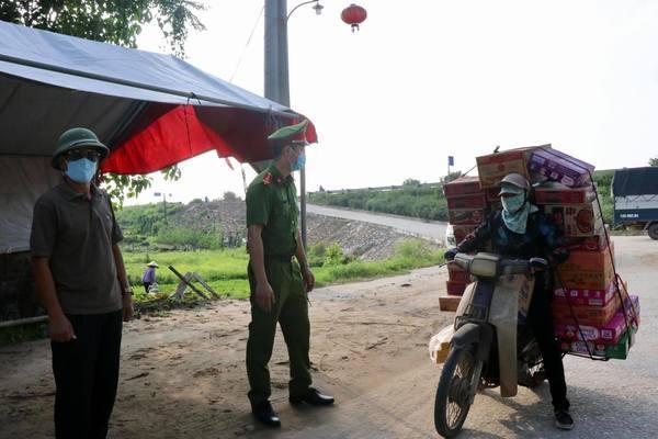 Bắc Ninh: Từ 14h hôm nay, giãn cách xã hội toàn huyện Yên Phong