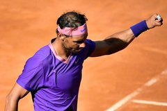 Rome Masters: Nadal hẹn Djokovic ở chung kết
