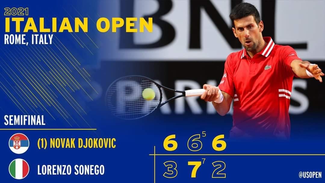 Djokovic đại chiến Nadal ở chung kết Rome Masters