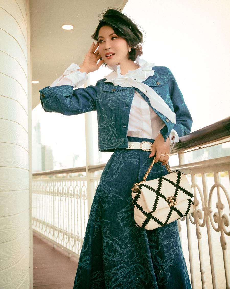MC Thanh Mai gợi ý phối đồ theo phong cách retro