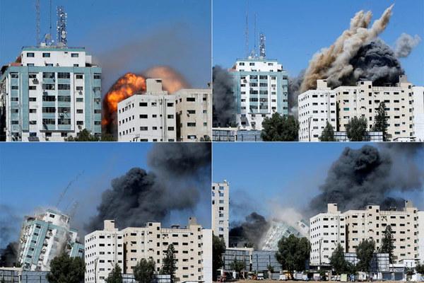 Giao tranh ngày thứ 7: Israel bắn phá Gaza, Hamas dội rocket vào Tel Aviv