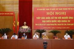 Nghị quyết 688 điều chỉnh số ứng cử viên ĐBQH khóa XV của Hà Nội