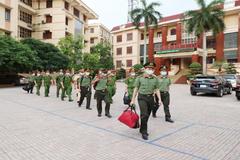 Công an Bắc Giang tăng cường 42 cán bộ, chiến sĩ về cơ sở chống dịch