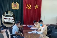 Xử lý  lái xe chạy ngược chiều trên cao tốc Hà Nội - Thái Nguyên