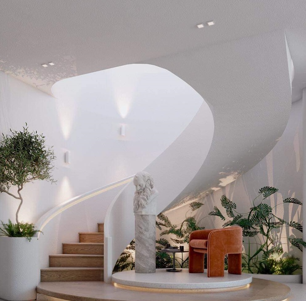 Thiết kế không gian mở, tận dụng tối đa ánh sáng trong ngôi nhà 345m2