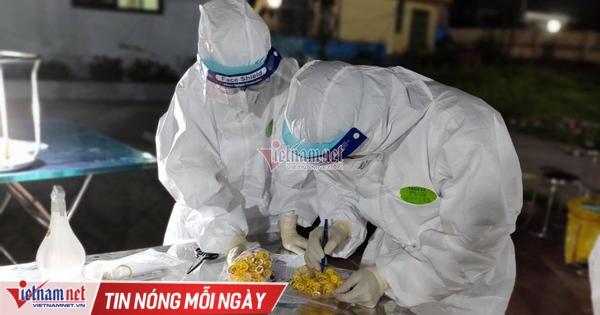 7 tiếng không ngơi nghỉ của thầy trò trường y tại 'điểm nóng' Bắc Giang