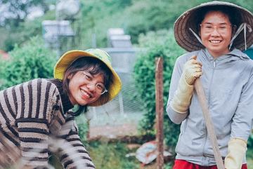 9X Đà Lạt mời khách lạ về khu vườn 7.000m2, cùng sống và trồng cây