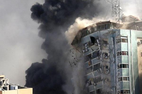 Hãng tin AP đòi điều tra vụ Israel không kích tháp Al-Jalaa