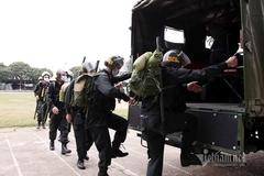 Lực lượng tinh nhuệ tới Bắc Giang, hừng hực quyết tâm chống Covid-19
