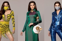 Khanh Van's impressive outfits at Miss Universe 2020