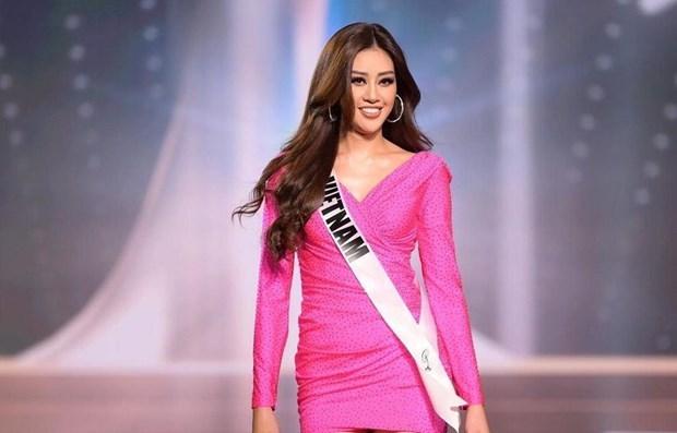 Vietnam's Khanh Van in top 21 of Miss Universe 2020