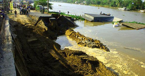 Mekong Delta needs over US$346 mln to tackle severe landslides