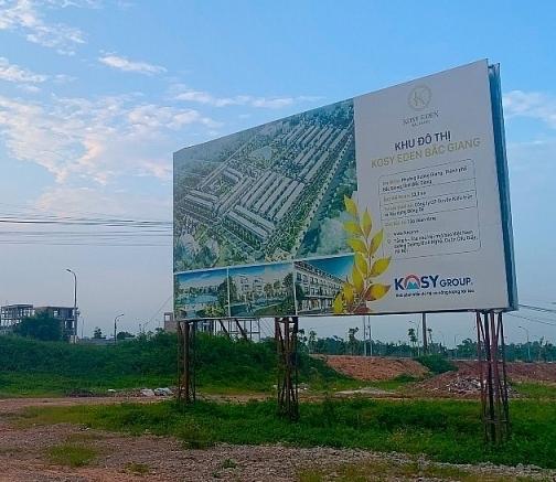 Kiểm tra dự án nhà ở hình thành trong tương lai chặn bán đất ruộng đầm lầy