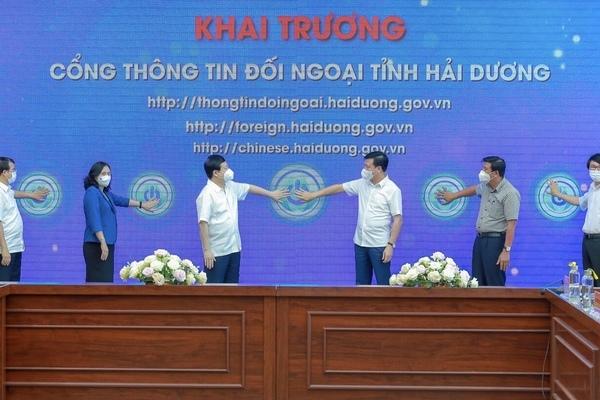 Hải Dương lập cổng Thông tin đối ngoại