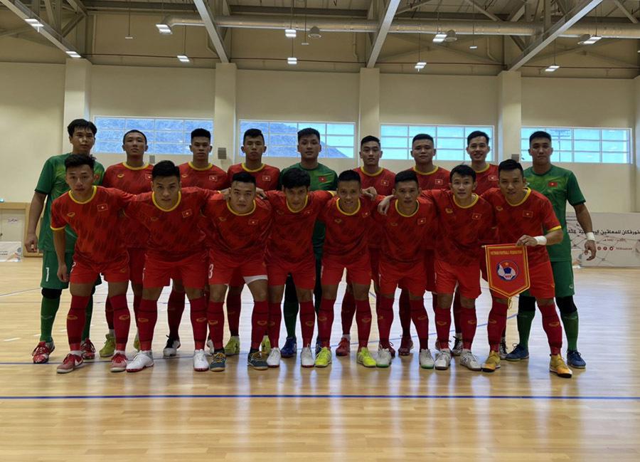 Nhận định futsal Việt Nam vs Lebanon: Mở cánh cửa World Cup