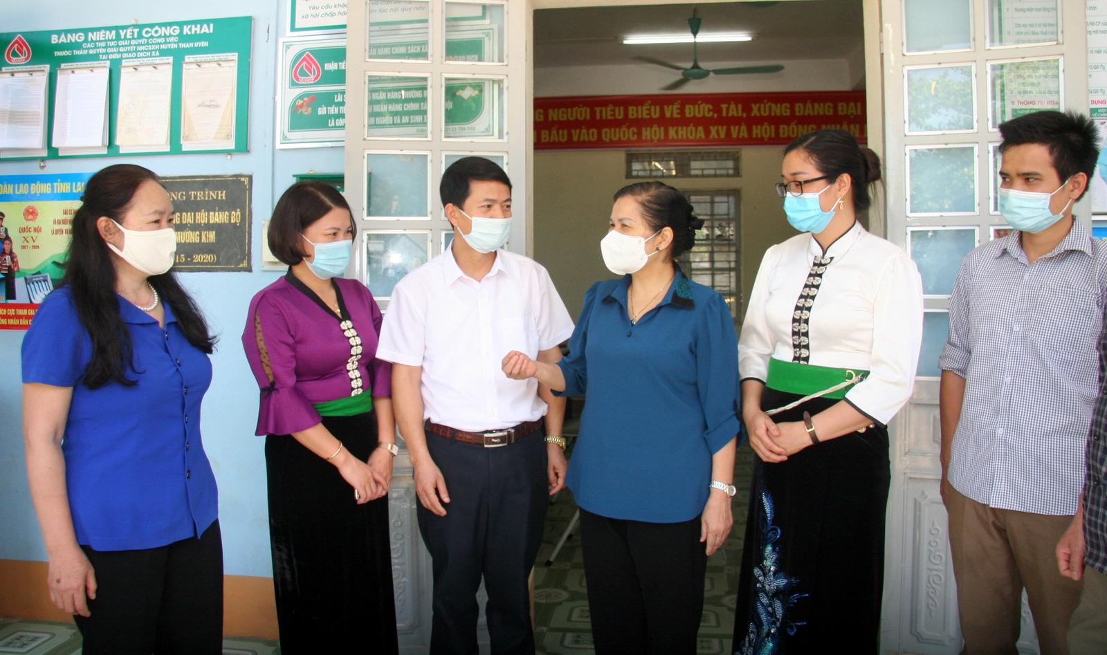 Lai Châu: Hội nghị tiếp xúc cử tri thị trấn Than Uyên và xã Mường Kim