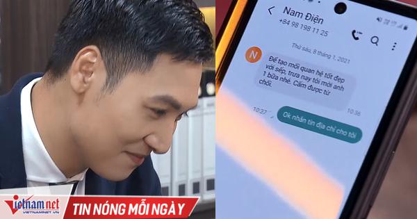 'Hương vị tình thân' tập 21, Nam chủ động nhắn tin hẹn hò Long