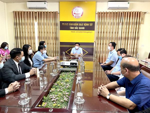 Danko Group ủng hộ 500 triệu đồng hỗ trợ Bắc Giang chống dịch Covid-19