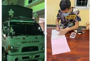 Tước giấy phép tài xế xe tải không nhường đường xe cứu thương