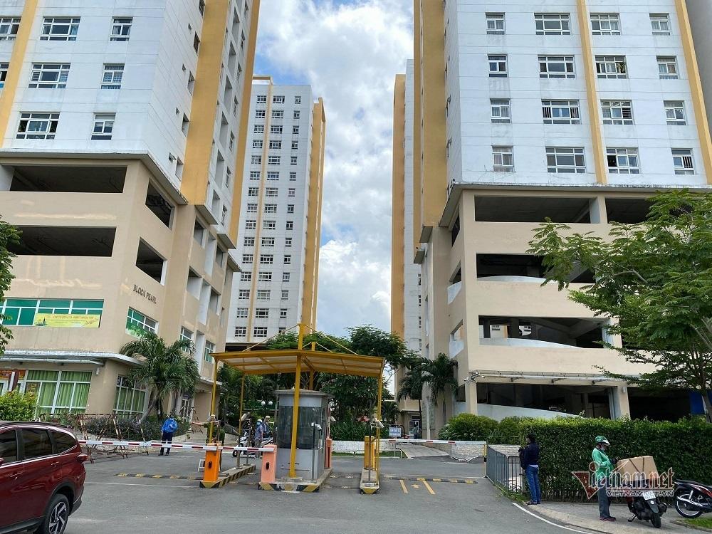 Phong toả block chung cư ở TP Thủ Đức vì ca nghi nhiễm Covid-19