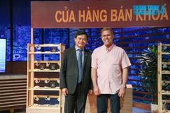 Shark Phú 'chốt deal' thành công startup khóa chống trộm