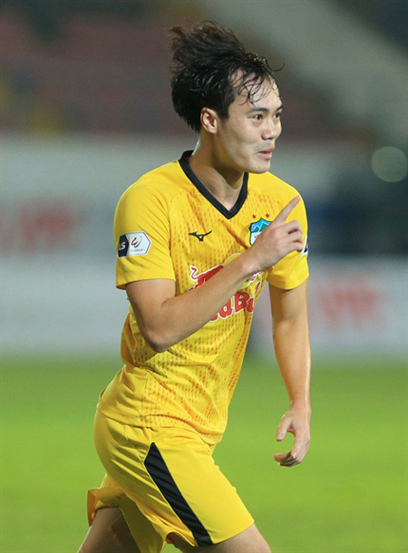 Striker Toan ready to bring domestic form to international level