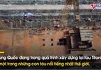 """Cận cảnh tàu Titanic Trung Quốc to như bản gốc sắp """"hạ thủy"""""""