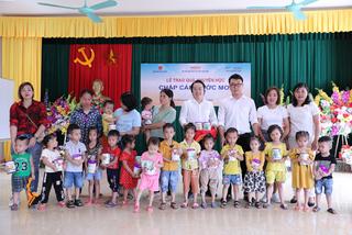 Vinlac nỗ lực vì sự phát triển thể trạng của trẻ em Việt
