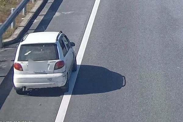 Xử phạt tài xế đi ngược chiều trên cao tốc Đà Nẵng - Quảng Ngãi