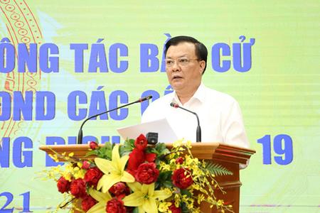 Bí thư Hà Nội: Trong mọi tình huống, TP sẵn sàng tổ chức thành công cuộc bầu cử