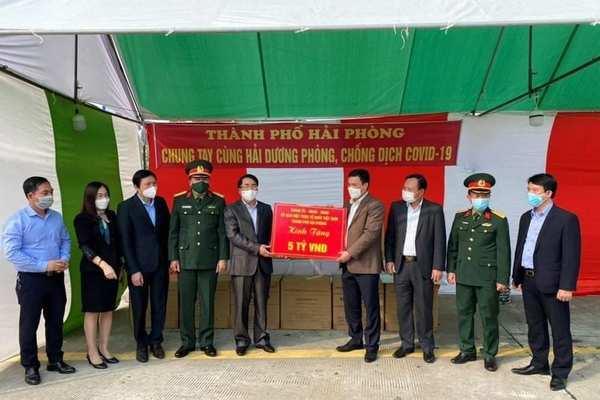 Hải Phòng chi 13 tỉ đồng ủng hộ 11 địa phương chống dịch