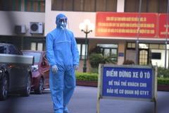 Phong tỏa tạm thời, khử khuẩn trụ sở Bộ Giao thông vận tải