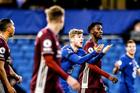 Chelsea 0-0 Leicester: Timo Werner 2 lần ăn mừng hụt (H1)