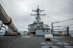Trung Quốc tố Mỹ 'đe dọa an ninh' khi đưa tàu chiến qua eo biển Đài Loan