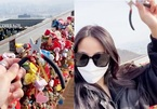 Cô gái bay từ Mỹ về Hàn để cắt khóa tình yêu