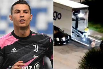Cristiano Ronaldo bí mật chuyển dàn siêu xe khỏi biệt thự ngay trong đêm