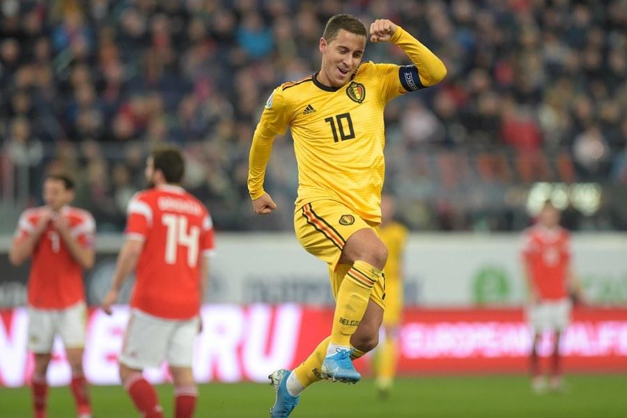 Danh sách ĐT Bỉ dự EURO 2020