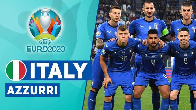 Danh sách 33 cầu thủ sơ bộ của ĐT Italia dự EURO 2020
