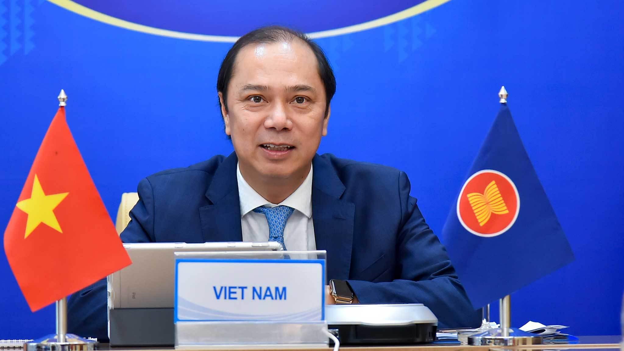 Việt Nam dự họp Tham vấn quan chức cao cấp ASEAN - Trung Quốc