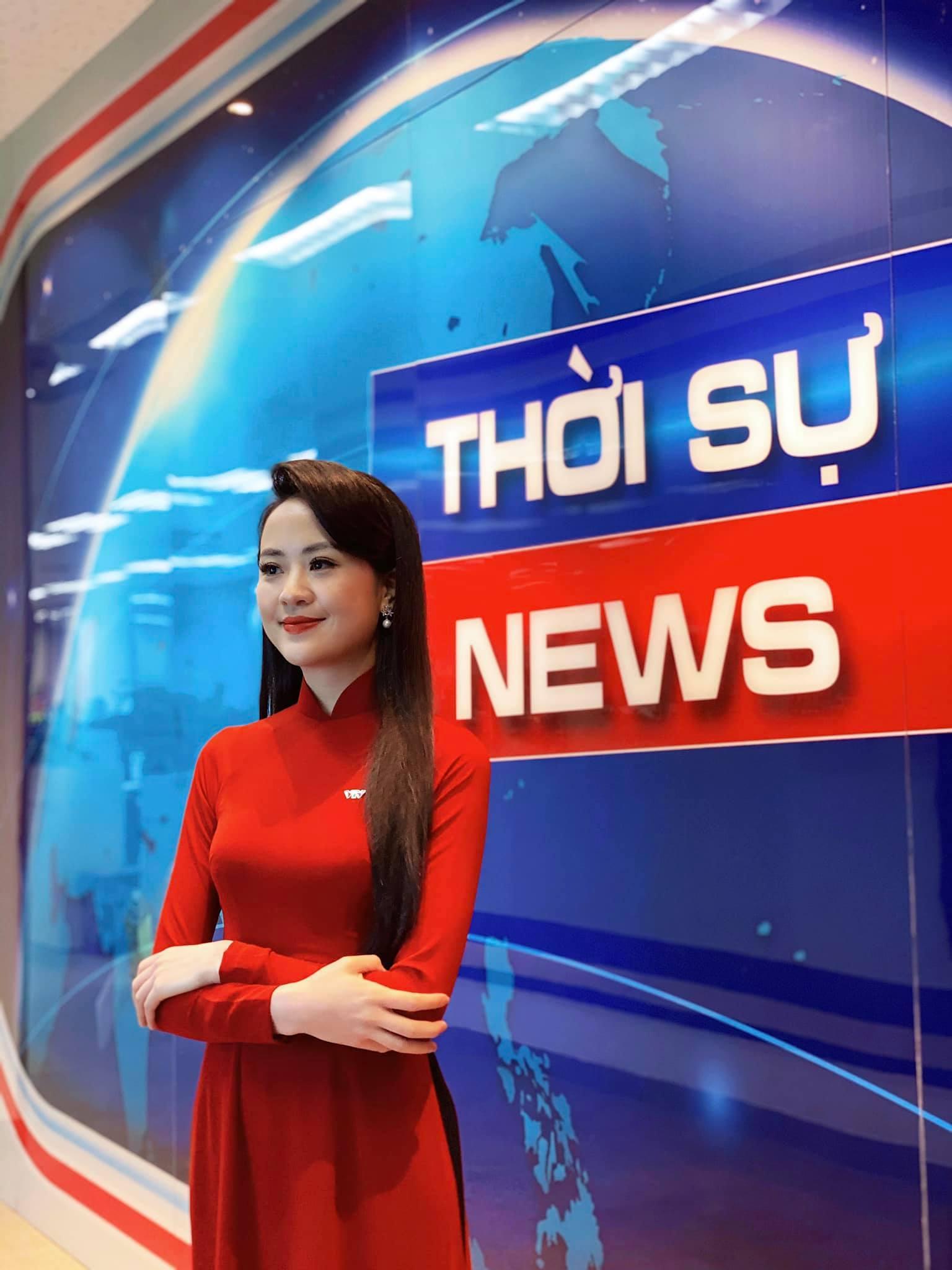 BTV xinh đẹp dẫn sóng Thời sự 19h của VTV là ai?
