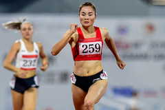 Track and field athlete Lan gears up for Olympics