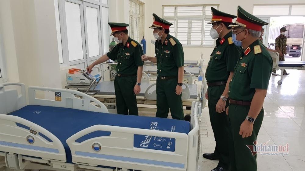 Bệnh viện dã chiến của Bộ Quốc phòng sẵn sàng cùng Bắc Giang chống dịch