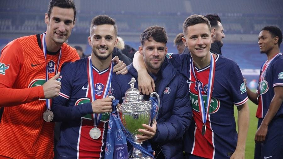 Mbappe chói sáng, PSG vô địch Cúp quốc gia Pháp
