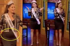Tân Miss Universe 2020 lộ bụng mỡ sau 3 ngày đăng quang