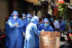 Việt Nam công bố 283 ca Covid-19, Bắc Giang bổ sung 201 bệnh nhân