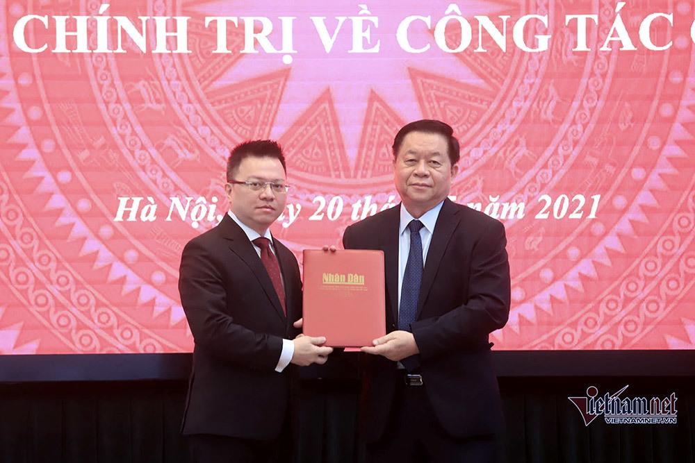Ông Lê Quốc Minh làm Tổng Biên tập báo Nhân dân