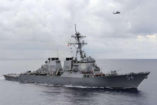 Mỹ đưa tàu chiến vào gần quần đảo Hoàng Sa