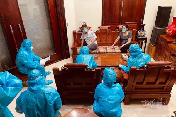 Nhận truyền nước cho 2 F0, y tá về hưu ở Hải Dương bị phạt 57 triệu